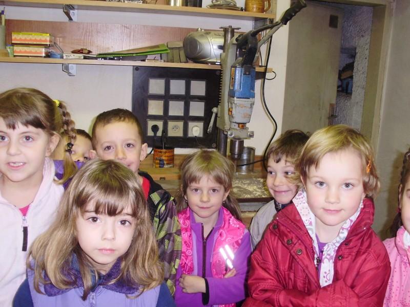 Z návštěvy stolařské dílny v Benešově