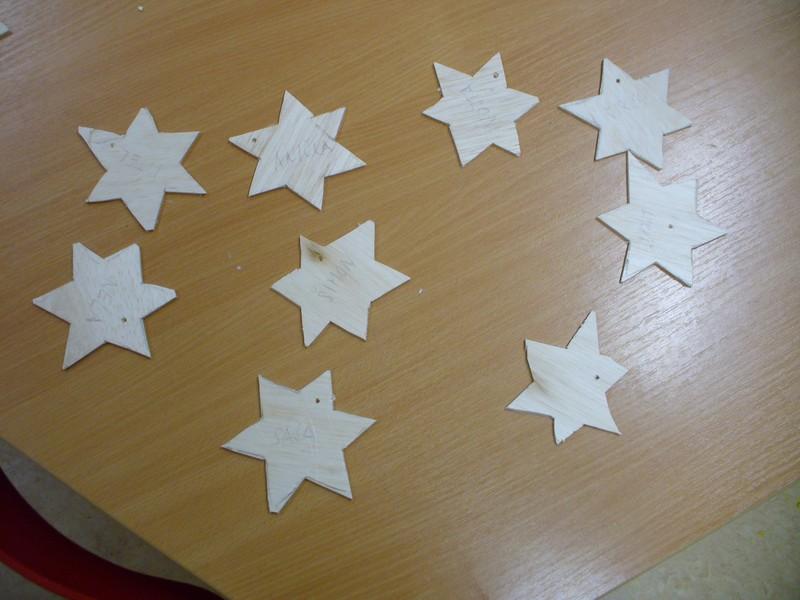 08. Hvězdičky na vánoční stromeček a andílci